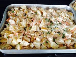 Echo Language School ensalada de patatas
