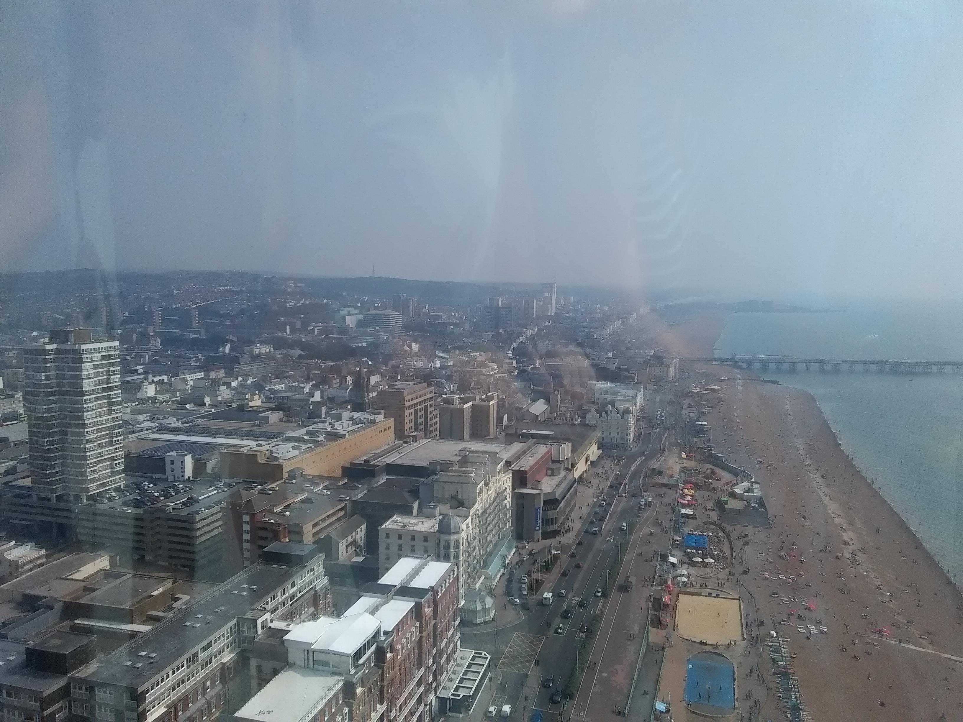 Brighton from i360