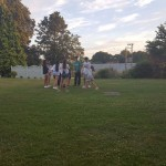 Garden Games in the Evening