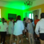 Blurred Party Shot