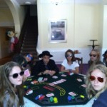 Poker faces!